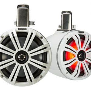 KICKER 8″ (200MM)TOWER SPEAKERS WHITE LED
