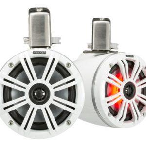 Kicker 6.5 (165mm) Tower Speakers White