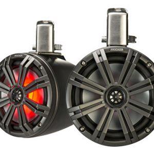 "Kicker 8"" (200mm)Tower Speakers Black LED"